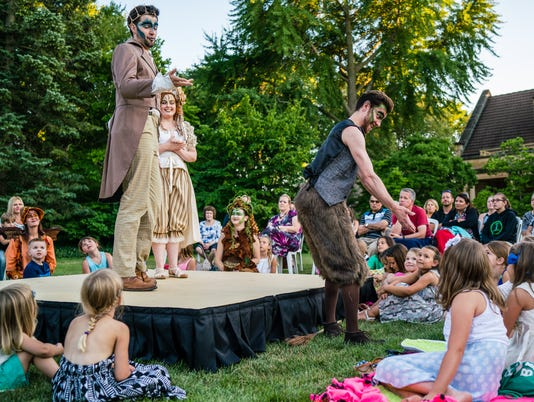A Midsummer Night's Dream at the Paine Art Center and Gardens