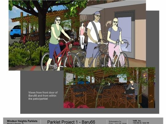 Baru 66 plans to install a parklet at the restaurant