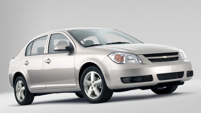 A 2005 Chevrolet Cobalt Sedan, one of the cars in GM's ignition switch recall.