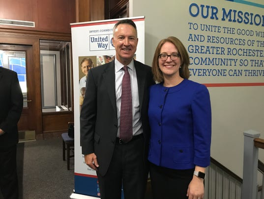 Jaime Saunders named as United Way of Greater Rochester president and CEO