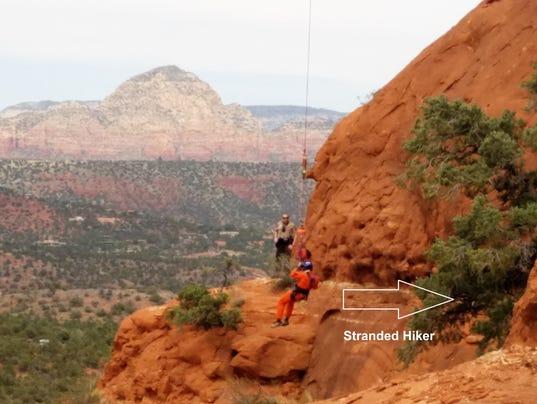 Bell Rock rescue