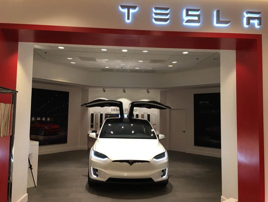 Tesla Opens Gallery Showroom In Nordstrom Troy Store