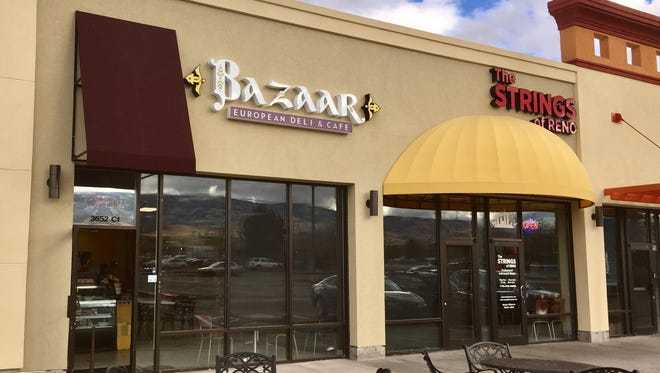Bazaar European Deli & Café recently opened in the center just north of the Atlantis Casino Resort Spa.