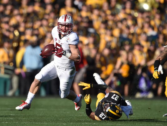 NCAA Football: Rose Bowl-Stanford vs Iowa