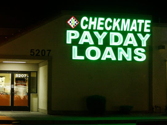 Payday lender in Phoenix on April 6, 2016.