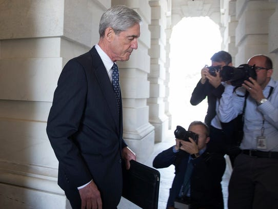 Special counsel Robert Mueller on Capitol Hill,  Washington,
