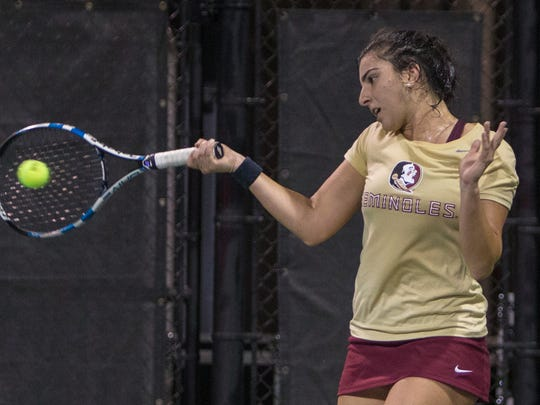 The Seminoles clinch a monumental victory against the Florida Gators at College Match Day hosted by USTA.