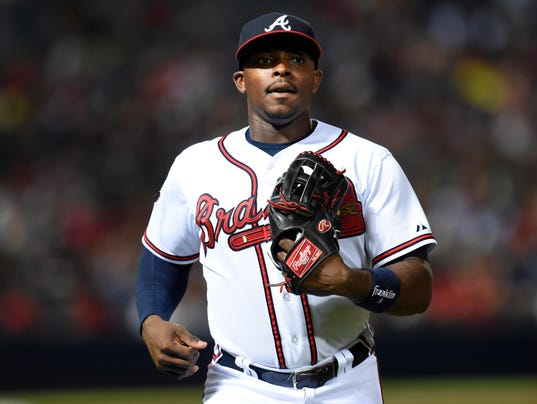 MLB: San Diego Padres at Atlanta Braves