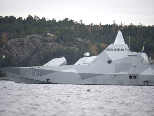 SWEDEN-MILITARY-SUBMARINE-RUSSIA-SEARCH