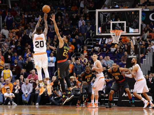NBA: Atlanta Hawks at Phoenix Suns