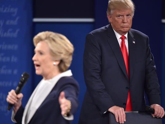FILES-US-VOTE-CLINTON-TRUMP-DEBATE