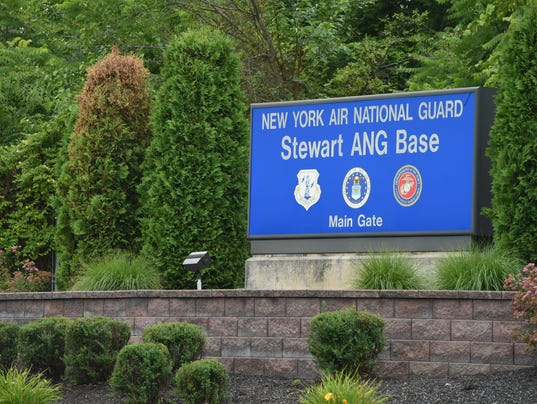 SIGN Stewart Air National Guard