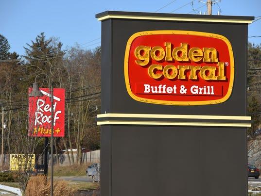 Golden Corral exteriors