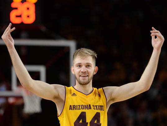 NCAA Basketball: Pacific at Arizona State