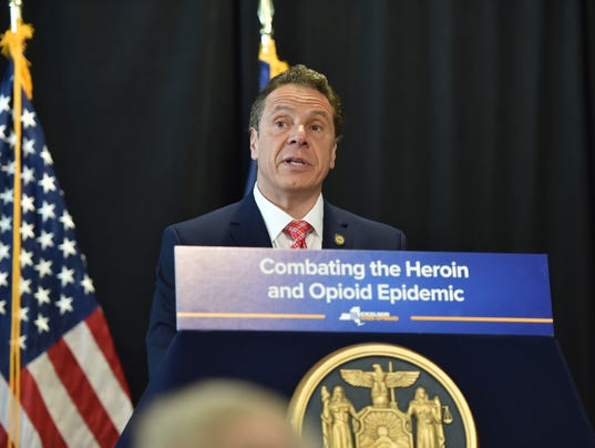 Cuomo signs heroin bill