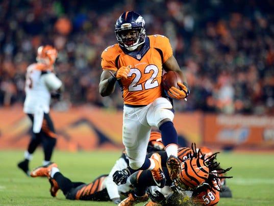 nfl YOUTH Denver Broncos C.J. Anderson Jerseys