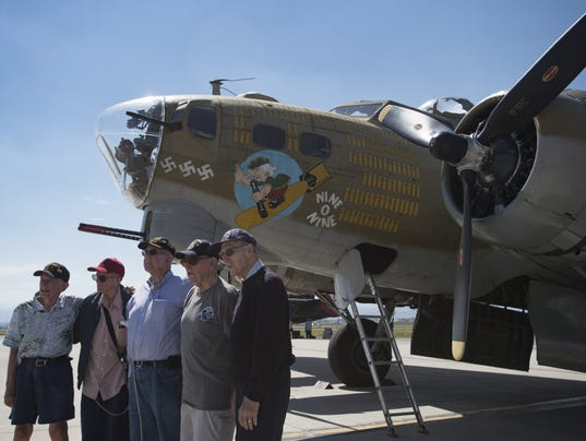 Veterans encouraged to share stories at Wings of Freedom Tour in Loveland