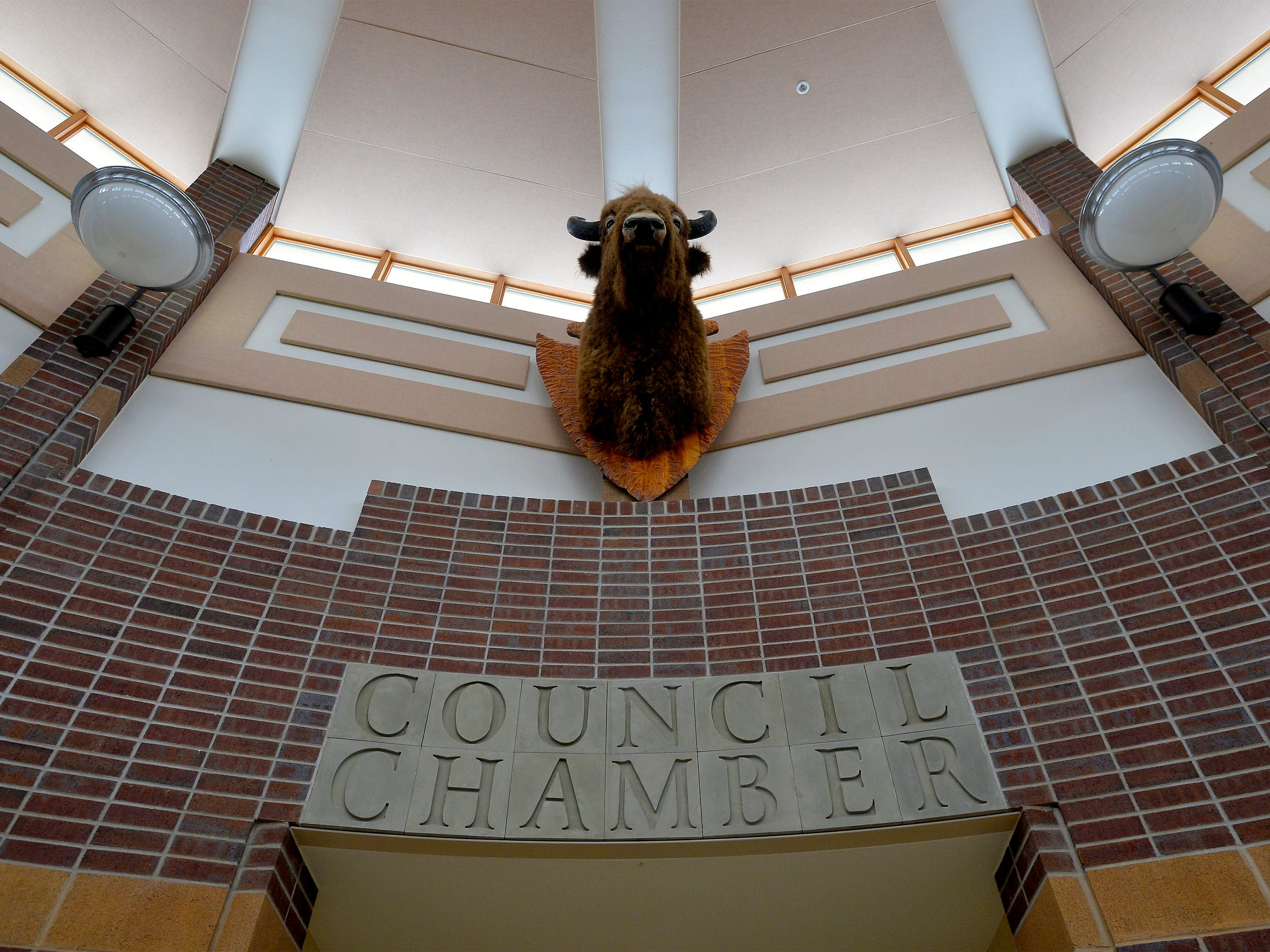 The Fort Peck Assiniboine and Sioux Tribes tribal headquarters