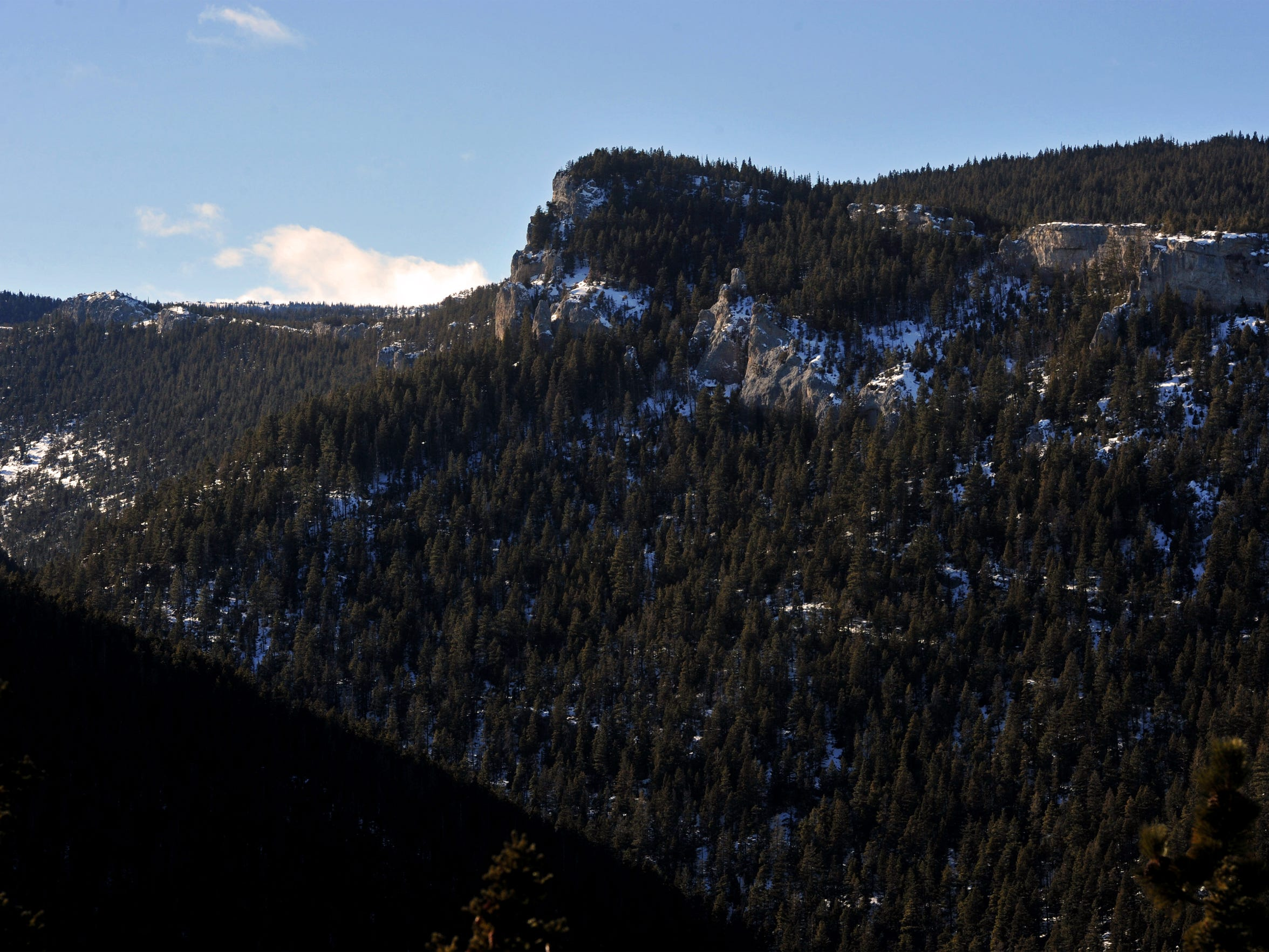 Half Moon Canyon in the Big Snowy Mountains Wilderness
