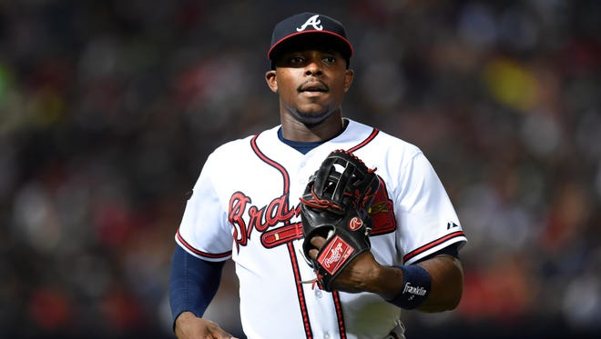 Justin Upton, 27, a two-time All-Star, hit 29 homers with 102 RBI on a poor Braves team.
