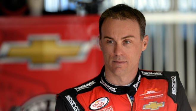 Kevin Harvick has six top-two finishes in seven races this season.