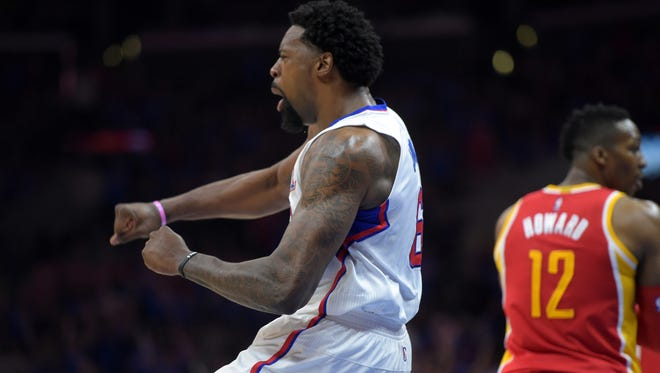 DeAndre Jordan took 34 free-throw attempts in the Clippers' Game 4 win.