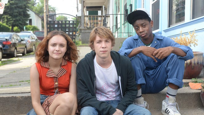 """Olivia Cooke, Thomas Mann and RJ Cyler star in """"Me and Earl and the Dying Girl."""""""