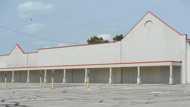 The former County Market building in the King's Plaza shopping area on National Road West in Richmond.