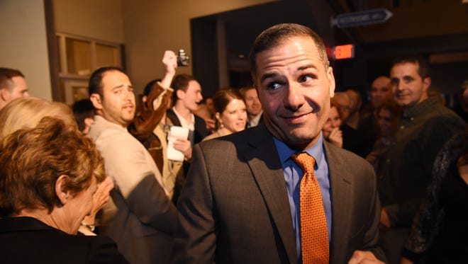 The Dutchess County Republican candidates reception at Cosimo's in Poughkeepsie on Tuesday.