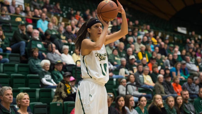 CSU's Jamie Patrick had 27 points, including a game-winning 3-pointer, as the Rams beat Boise State 68-64 at Moby Arena on Saturday.