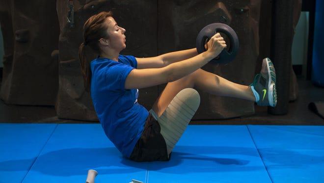 Christy Wise has attacked her rehabilitation like she has her life: vigorously.