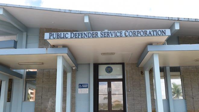 The Public Defender Service Corporation office in Sinajana.