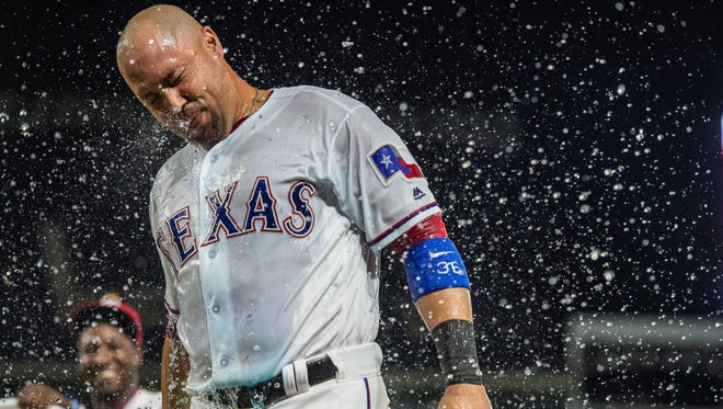 Carlos Beltran had tied the game with his fourth hit in the 10th inning.