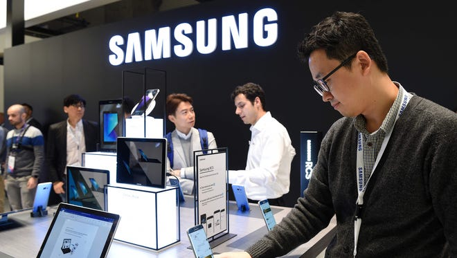 Samsung reported its highest second-quarter operating profit in its history.