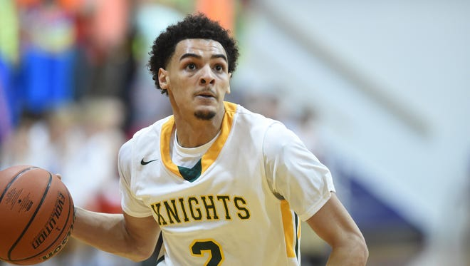 "PLAYER OF THE YEAR: Northeastern's Tyler Smith led the Knights to four TEC and sectional championships and will graduate as the TEC's leading scorer with 1,947 career points.  He averaged 24.6 points, 6.1 rebounds, 3.8 assists and 3.2 steals per game – all team-highs – as the Knights went 22-6, 7-0 in the TEC and advanced to a second straight regional championship game. ""I think just how he played throughout his career, he's one of the probably top five guards all time in East Central Indiana,"" Northeastern coach Brent Ross said."