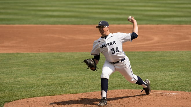Xavier pitcher Zac Lowther has caught the eye of professional scouts over the last year for his consistent performances in NCAA and amateur-league play.