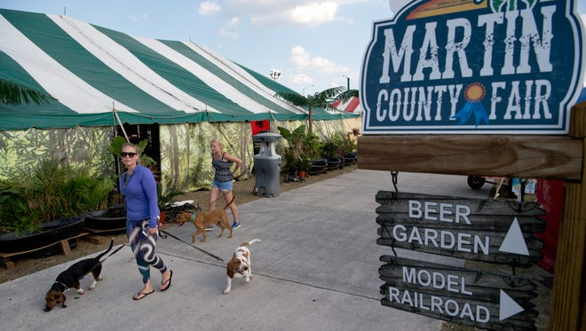The Martin County Fair now is at the county-owned fairgrounds off Dixie Highway.
