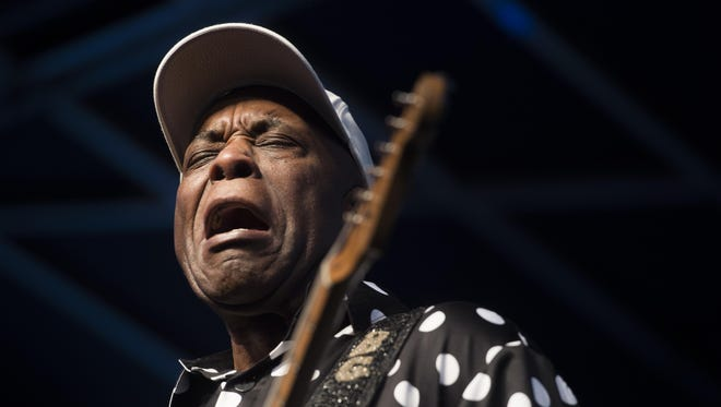 Blues legend Buddy Guy, pictured in 2016, returns to the Count Basie Theatre on Wednesday night.