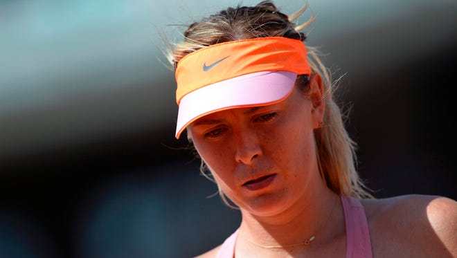 Although Maria Sharapova is back playing tennis she has not been invited to play in the French Open.