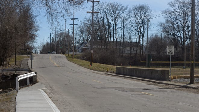 The bridge on Peacock Road in Richmond is scheduled to be replaced later this year.