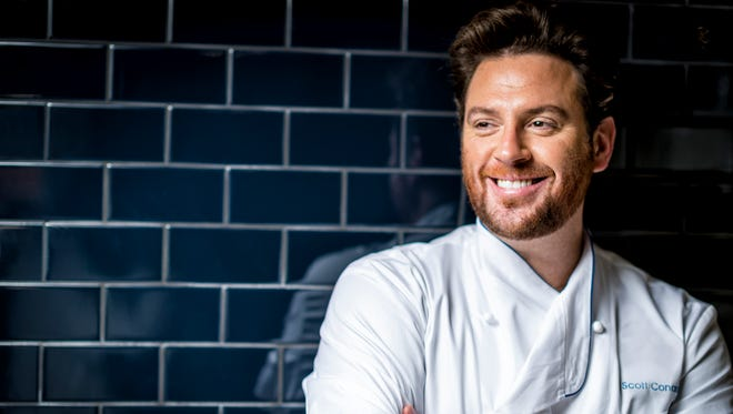 "Scott Conant is a regular judge on Food Network's ""Chopped."""