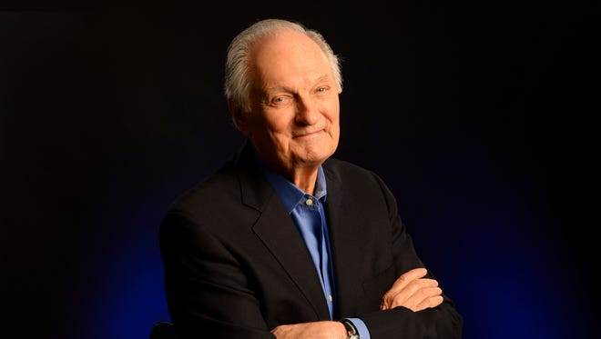 "Alan Alda says he was diagnosed with Parkinson's disease three and a half years ago, ""and I've had a full life since then."""
