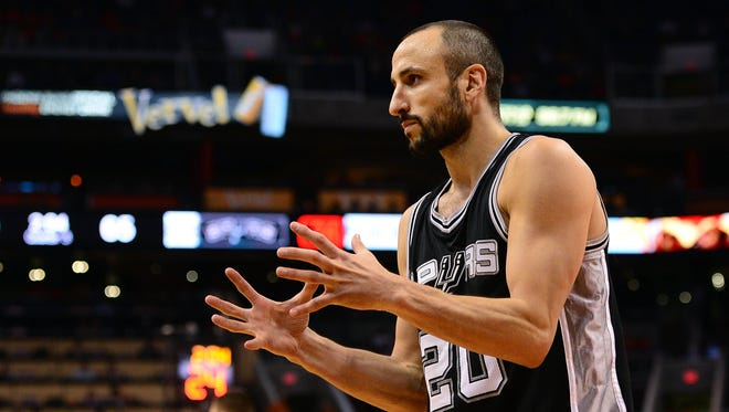 Spurs guard Manu Ginobili has embraced coming off the bench.