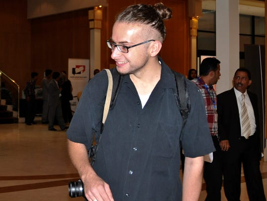 Luke Somers, 33, attends the National Dialogue Conference