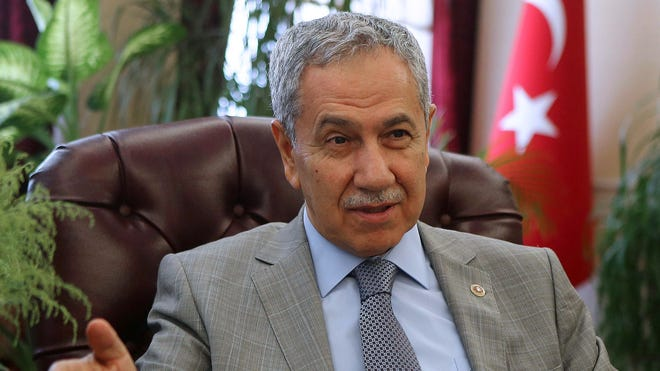 """In an end-of-Ramadan speech July 28, 2014, Turkey's Deputy Prime Minister Bulent Arinc decried """"moral corruption,"""" including women laughing out loud."""