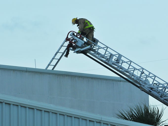 Cape Canaveral Fire Rescue and Brevard County Fire