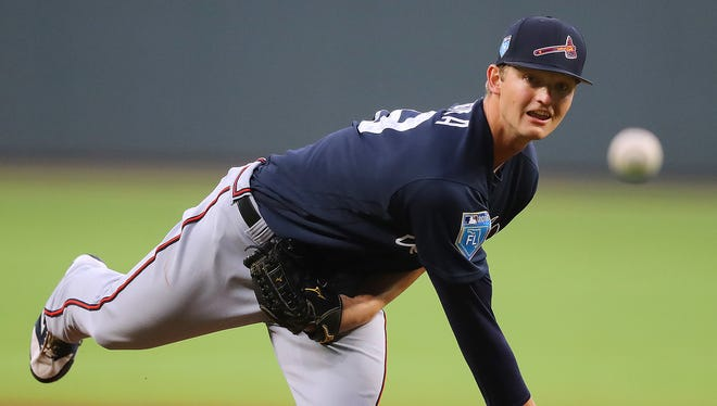 Braves pitching prospect Mike Soroka made his MLB debut on Tuesday, holding the Mets to one run in six innings.