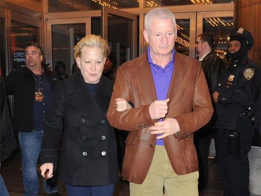 Bette Midler and Martin von Haselberg