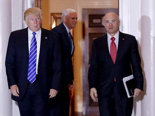 AP TRUMP PUZDER A FILE USA NJ