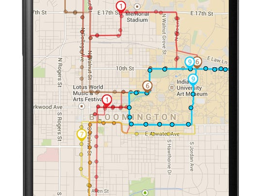 DoubleMap offers a real-time GPS bus-tracking application called DoubleMap.